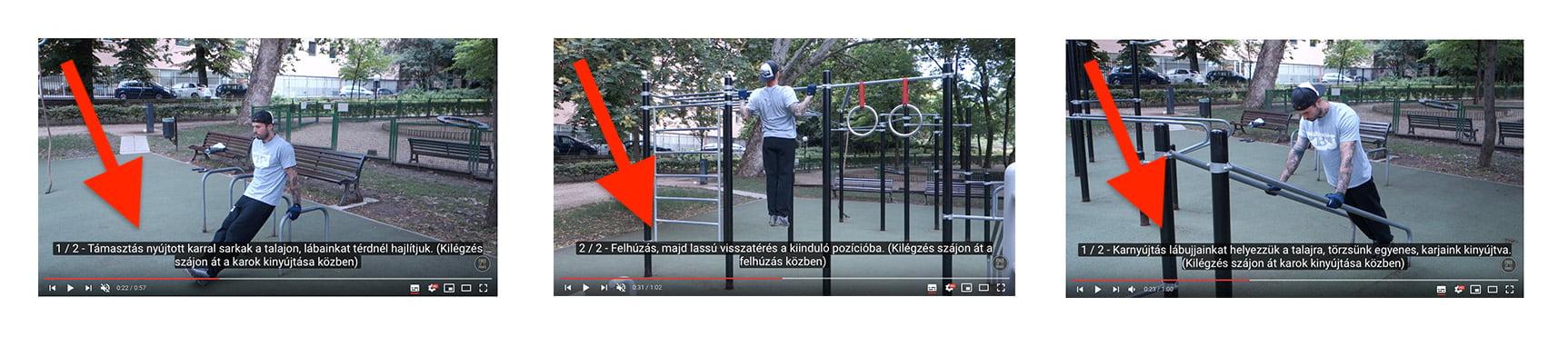 Eddz Okosan Kondiparkban videok felirattal