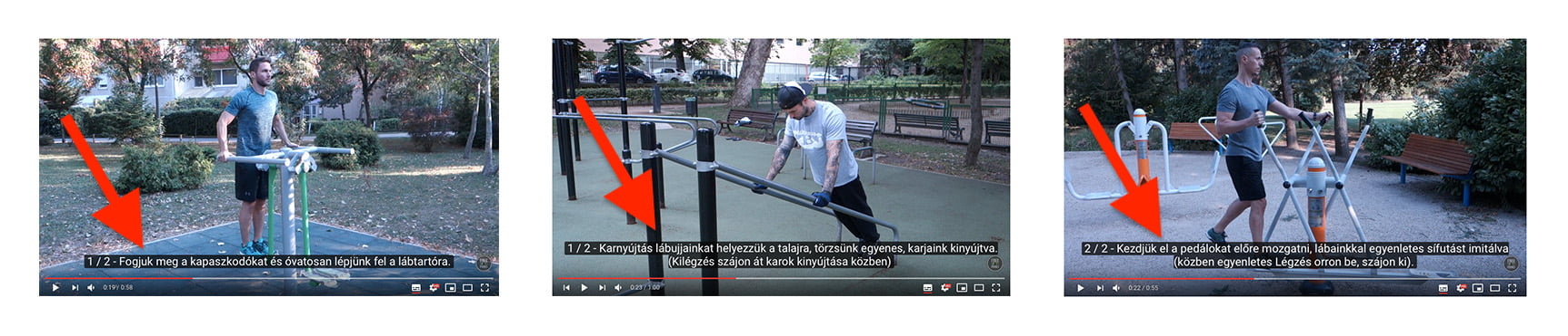 Free Sport Parks Train Smart videos with subtitle