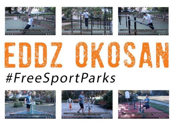 Eddz Okosan a Free Sport Parks térképpel