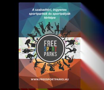 Add Tovább a Free Sport Parks Térkép Hírét Plakáton (magyar nyelvű)