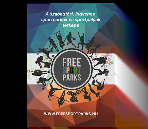 Free Sport Parks térkép - magyar nyelvű plakát