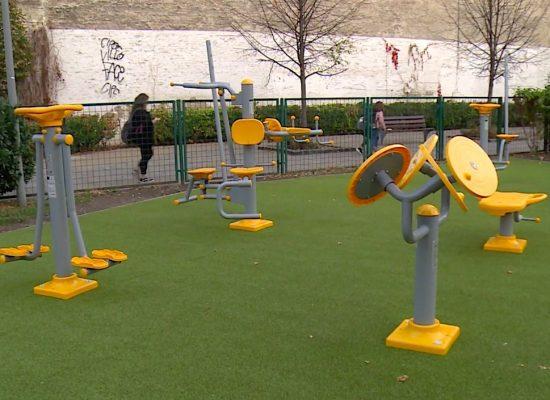 Fitneszpark épült a Markusovszky téren