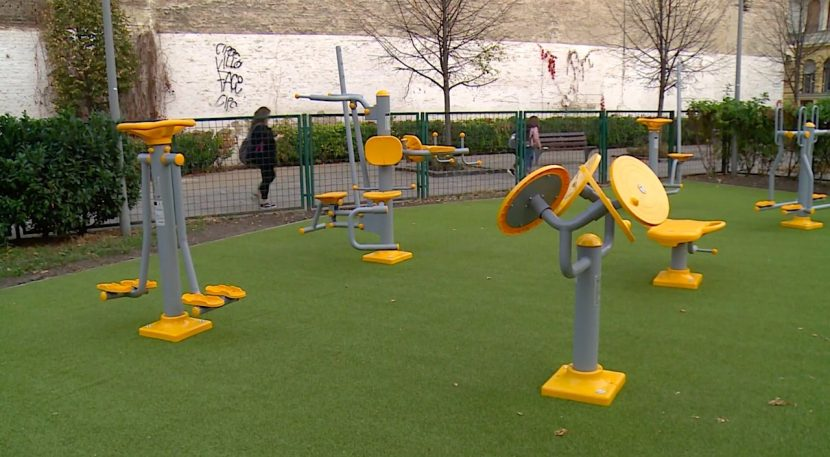 New Fitness Park at Markusovszky Square