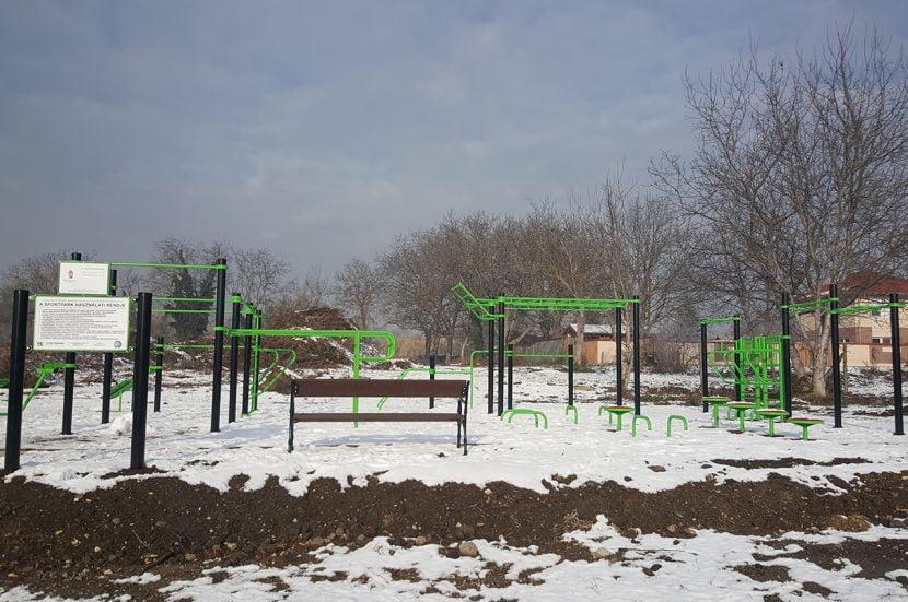 New Street Workout Park in Diósd - Free Sport Parks Blog