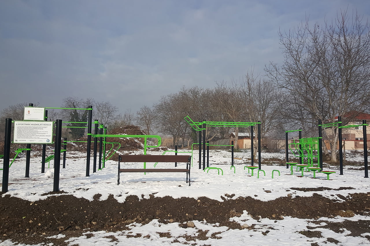 New Street Workout Park in Diósd - Free Sport Parks Blog