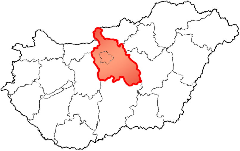 Pest County - Social Sport City - Free Sport Parks Map