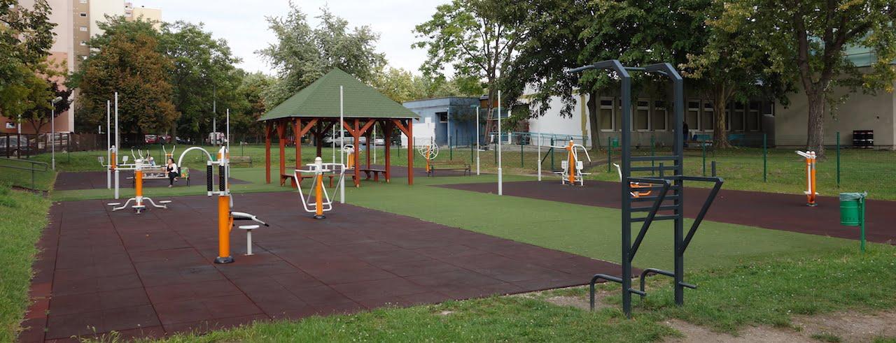 Fitneszpark plusz - Budapest (13. kerület), Gidófaly Lajos utca