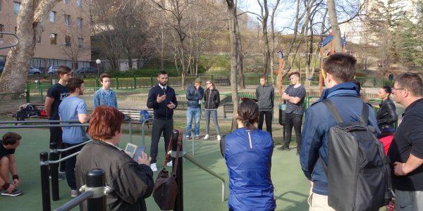 Free Sport Parks – Mechwart liget – Radányi Norbert – nyitott workshop – 1