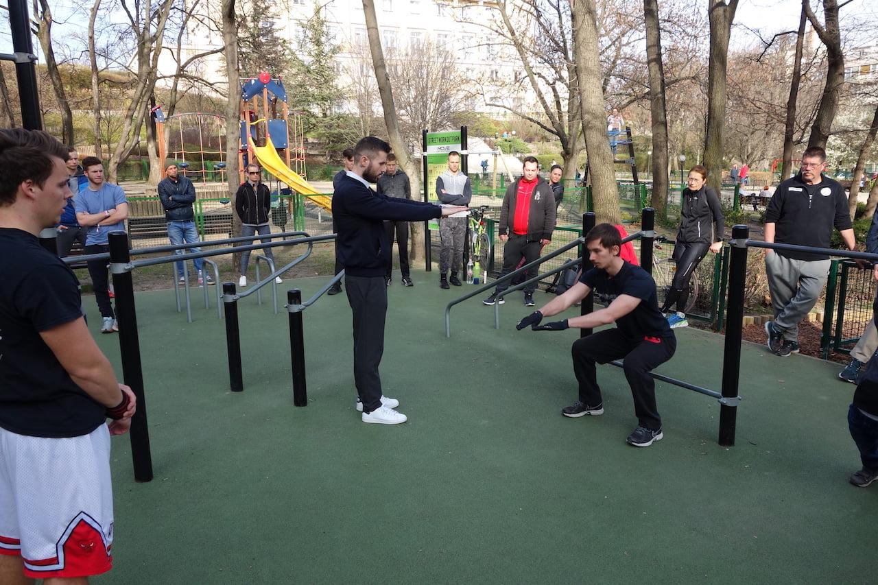 Free Sport Parks - Közösségi Sportváros Vagyunk Képzés - Mechwart liget - Radányi Norbert - nyitott workshop - 3