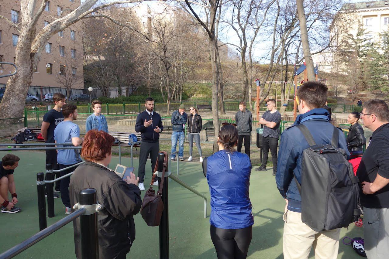 Free Sport Parks - We Are a Social Sport City Education - Mechwart liget - Radányi Norbert open workshop - 1