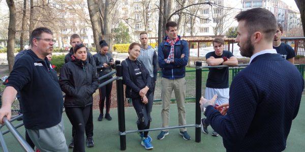 Free Sport Parks – Mechwart liget – Radányi Norbert open workshop – 4