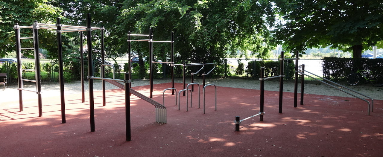 Street Workout Park - Budapest (2nd district) Zsigmond square