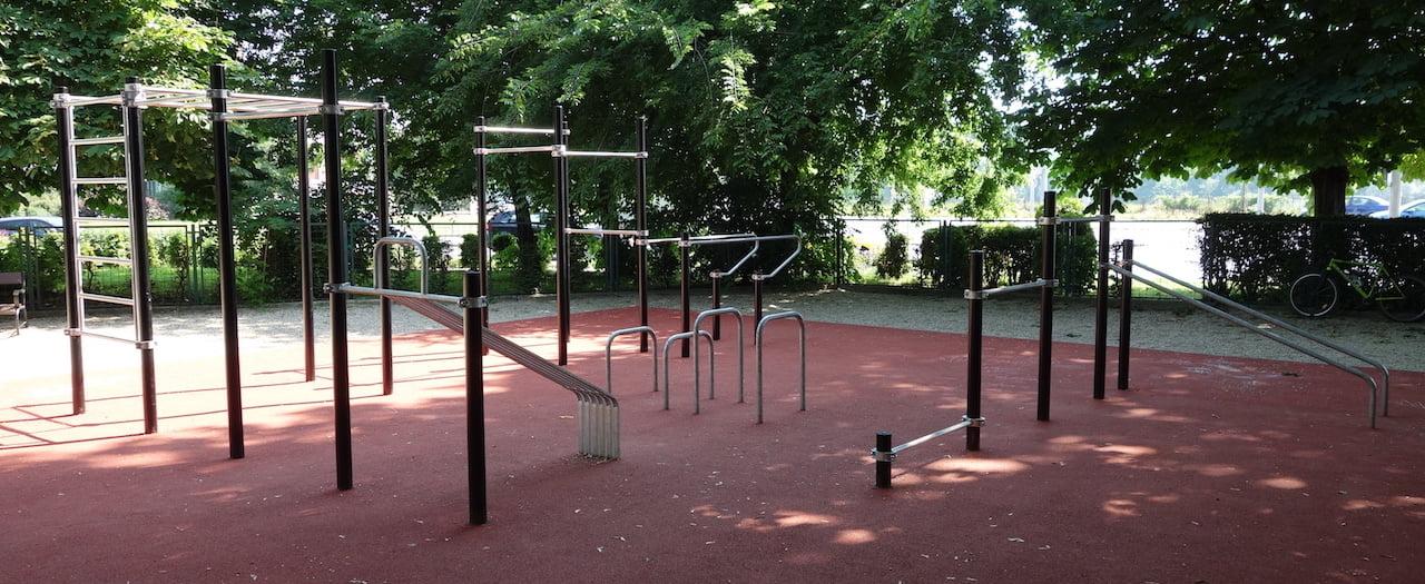 Street Workout Park - Budapest (II. kerület) Zsigmond tér