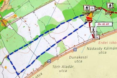 Erdei Tornapálya térképe - Free Sport Parks térkép