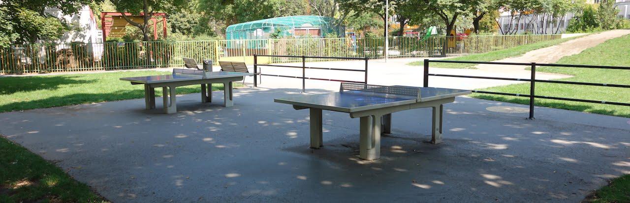 Ping-pong asztal - Budapest, Nyár utcai sétány - Free Sport Parks térkép