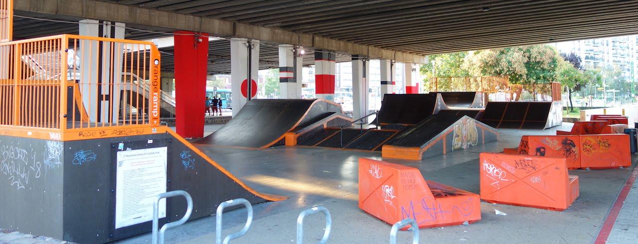 Skatepark - Budapest (IX. kerület), Boráros tér - Free Sport Parks térkép