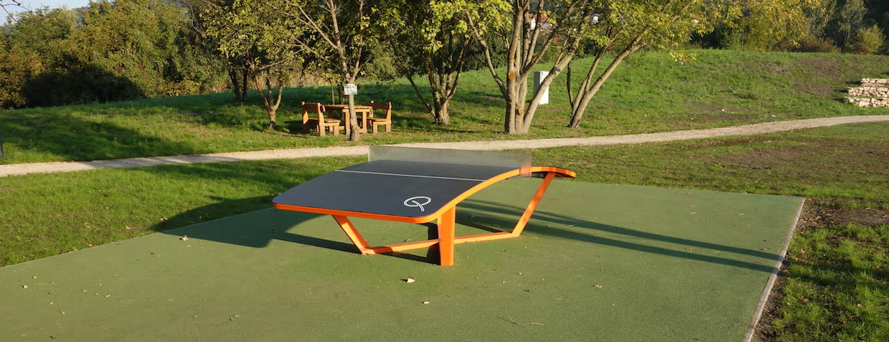 Teqball Table Signs And Features Free Sport Parks Map