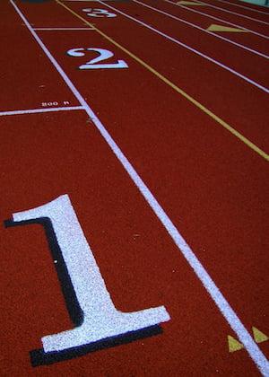 Tartan running track - Free Sport Parks map