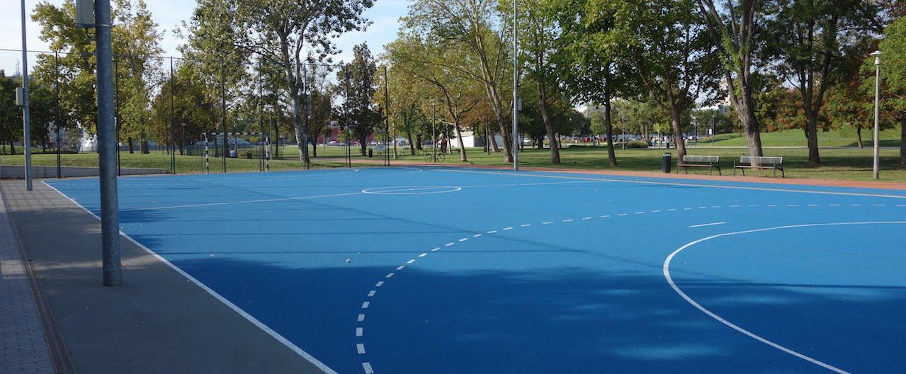 Focipálya - Budapest (XI. kerület), Bikás park - Free Sport Parks térkép