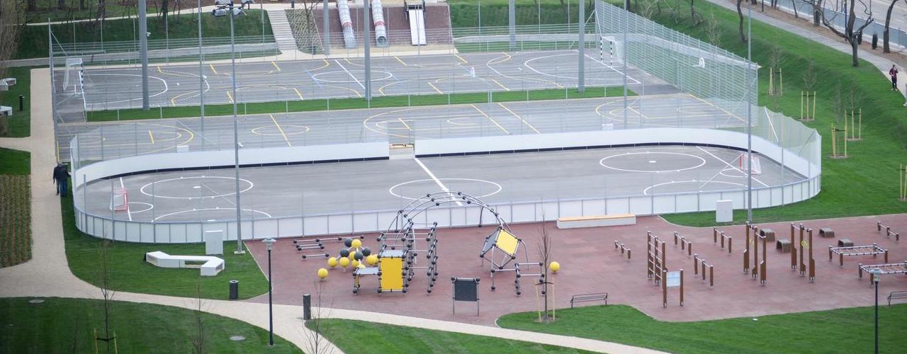 Görhoki pálya - Budapes (VIII. kerület), Orczi kert - Free Sport Parks térkép