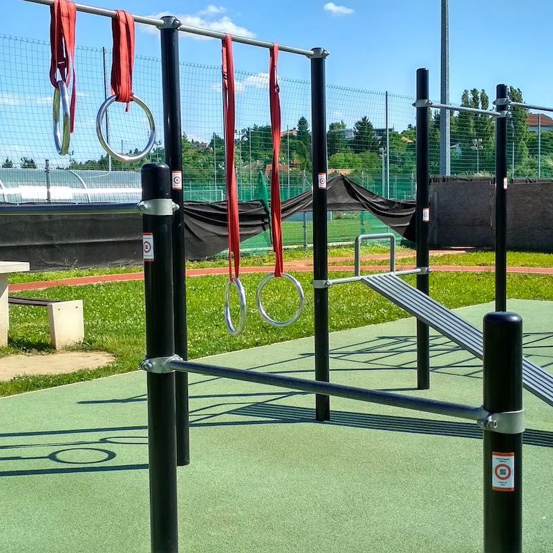 Free Sport Parks - Train Smart QR code in Street Workout Park-2