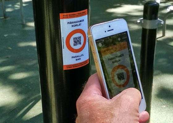 Free Sport Parks – Train Smart QR code stickers