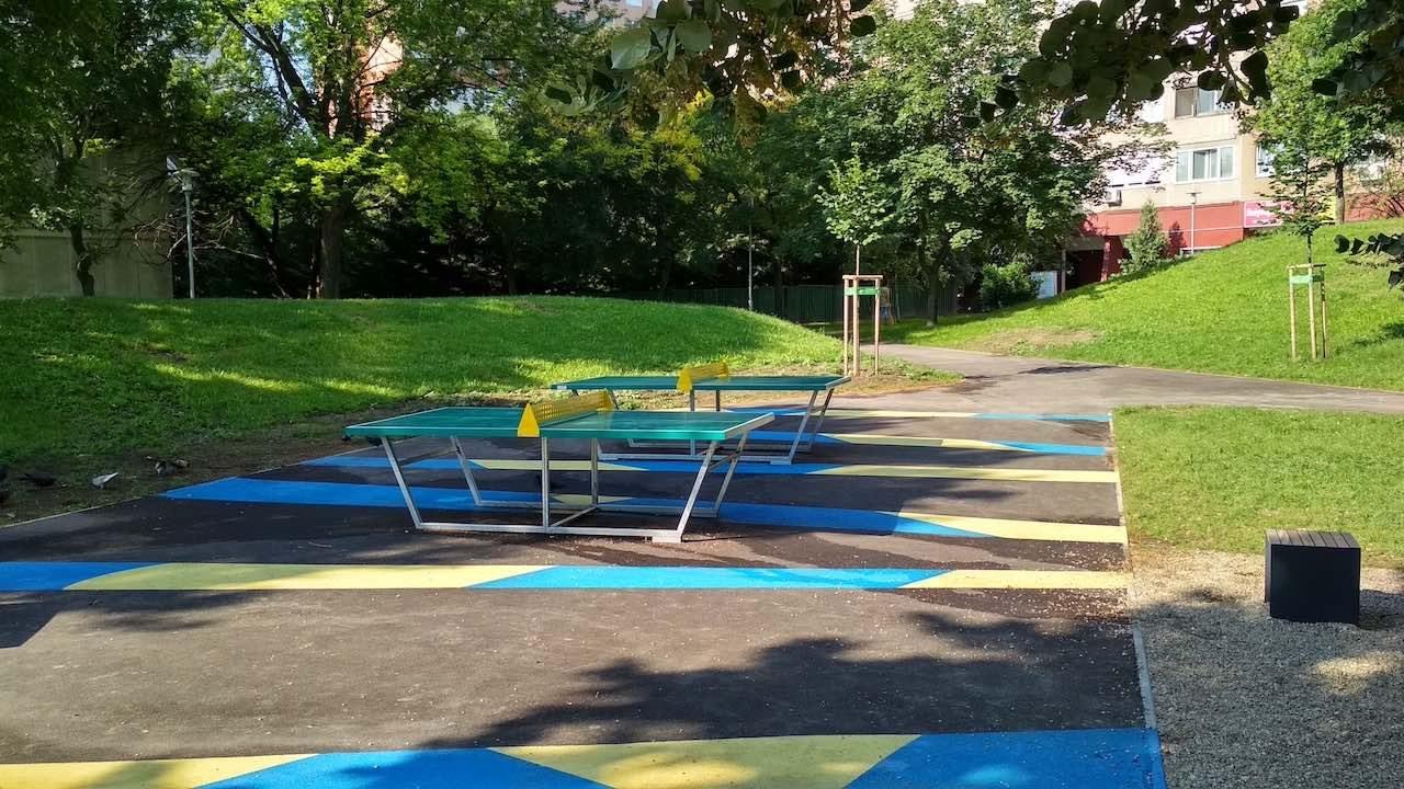 Holdudvar park – Table Tennis tables