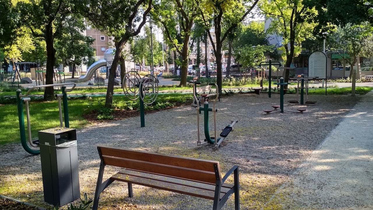 Holdudvar park – Fitneszpark