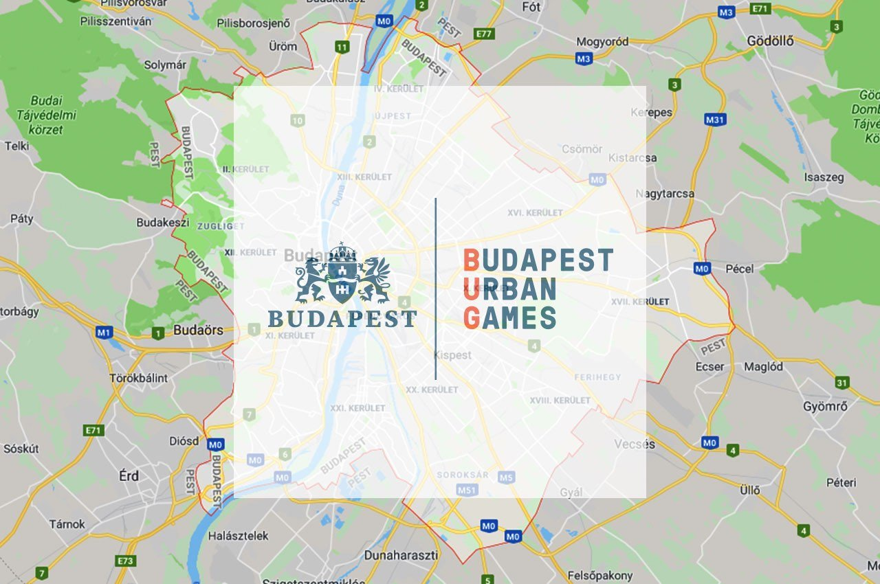 Budapest Urban Games 2019 - Free Sport Parks térkép blog