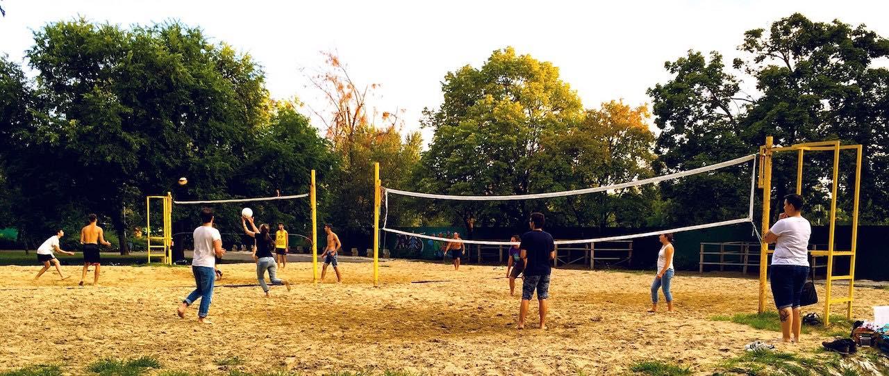 Budapest Urban Games 2019 - Strandröplabda pálya a Városligetben - Free Sport Parks térkép blog