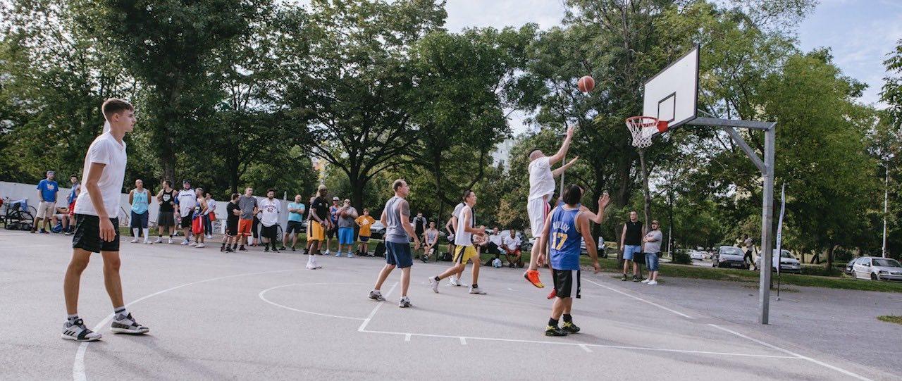 Budapest Urban Games 2019 - Kosárlabdapálya a Bikás parkban - Free Sport Parks térkép blog