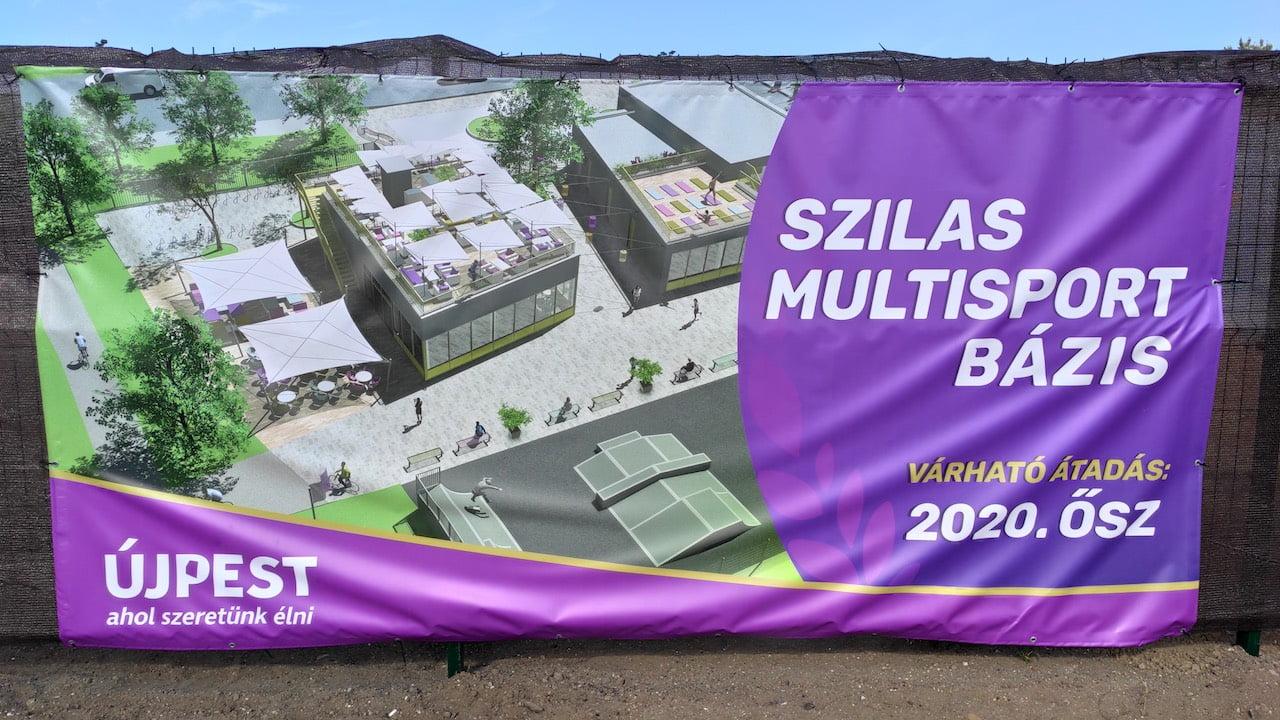 Multisport Bázis Újpesten - új épületegyüttes épül 2020 őszéig