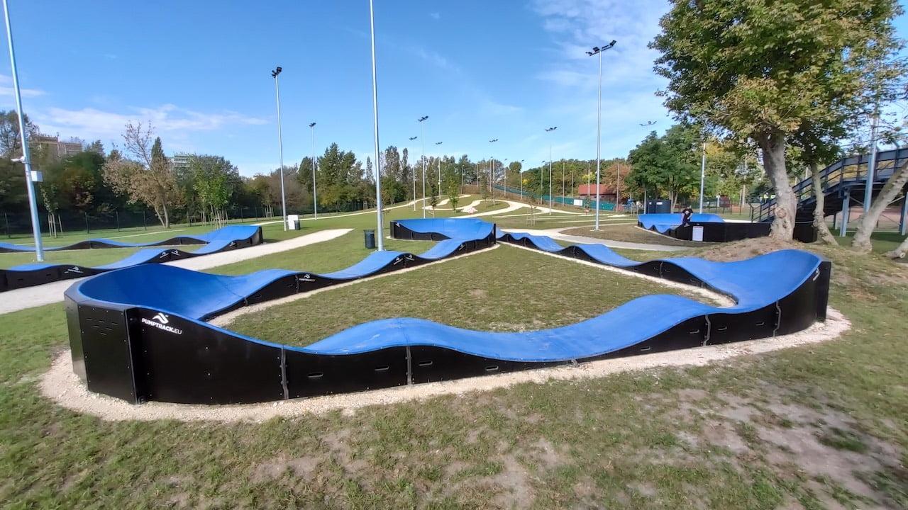Multisport Bázis Újpesten - Pump Track pálya