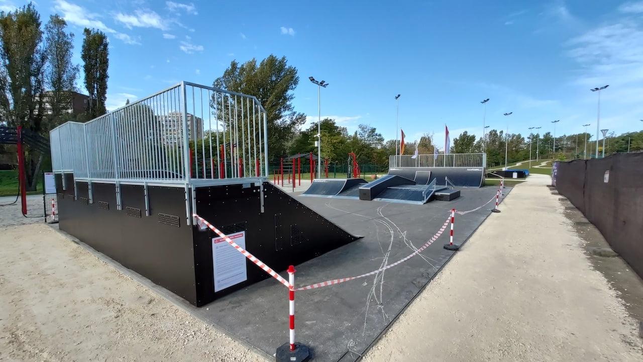Multisport Bázis Újpesten - skatepark