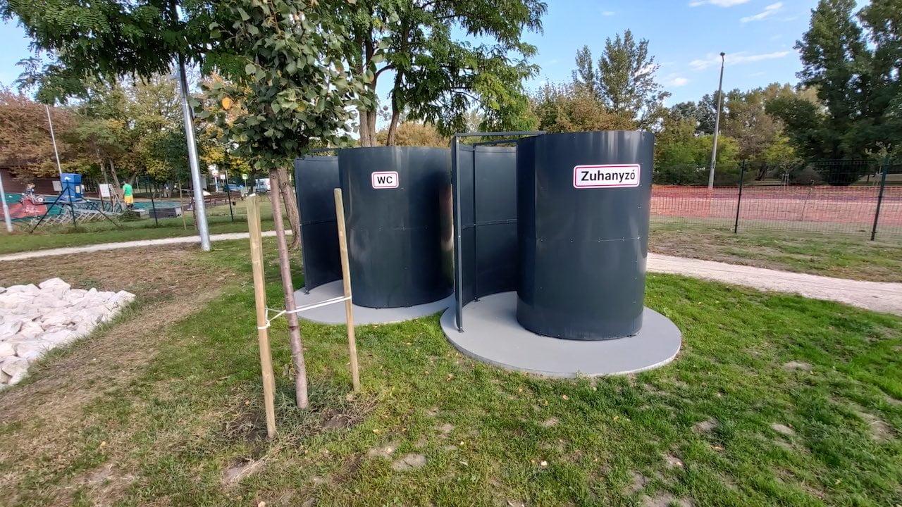 Multisport Bázis Újpesten - Zuhanyzó és WC