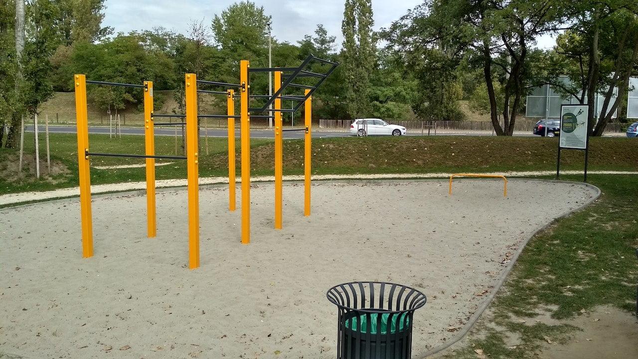 Szilas Aktív Park Újpesten - Kondipark