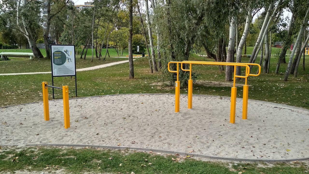 Szilas Aktív Park Újpesten - Street Workout Park futópályával