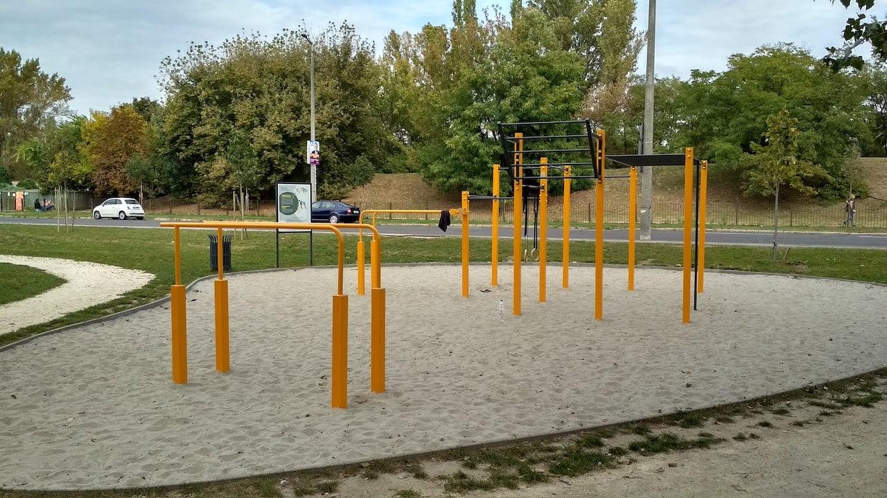 Szilas Aktív Park Újpesten - Kondipark köredzéshez