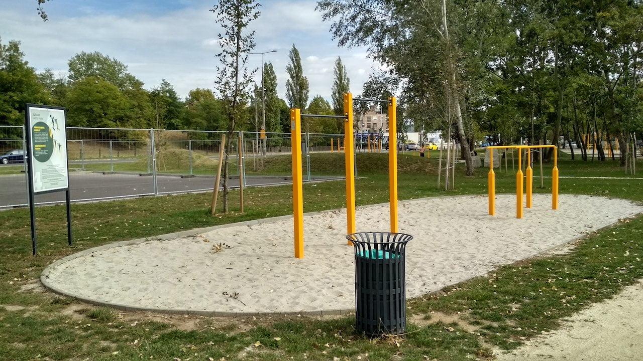 Szilas Aktív Park Újpesten - Street Workout Park köredzéssel
