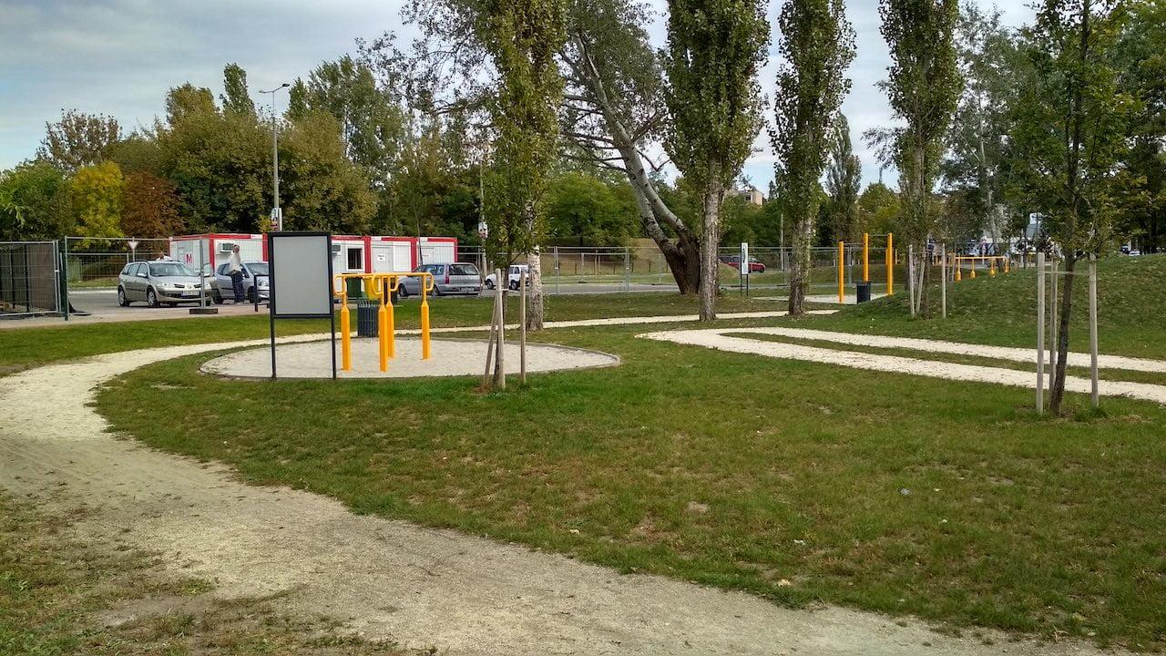 Szilas Aktív Park Újpesten - Kondipark futópályával