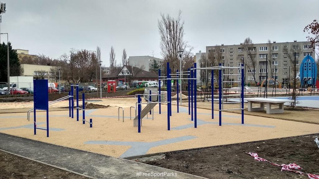 Csepel Tejút park - Családi Szabadidőpark - kondipark, ping-pong asztal, rekortan futókör - Free Sport Parks térkép - Budapest 2019, Európa Sport fővárosa