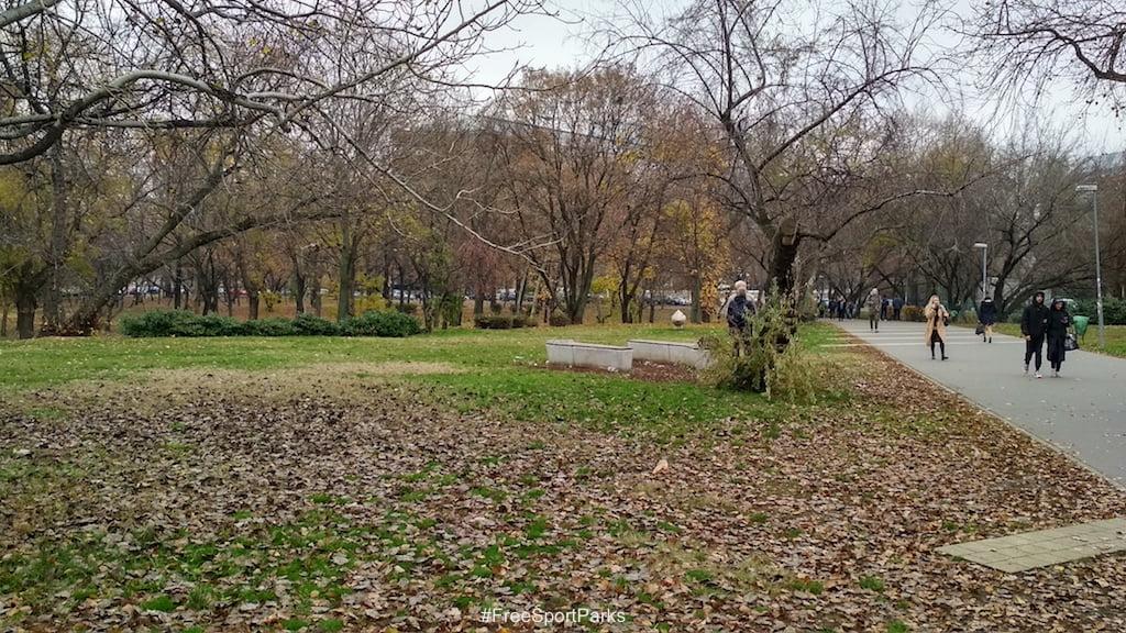 Egyetemisták parkja - Családi Szabadidőpark - Free Sport Parks térkép - Budapest 2019, Európa Sport fővárosa