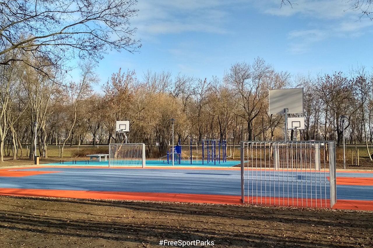 Épülnek a Családi Szabadidőparkok Budapesten - Free Sport Parks térkép - Budapest 2019, Európa Sport fővárosa