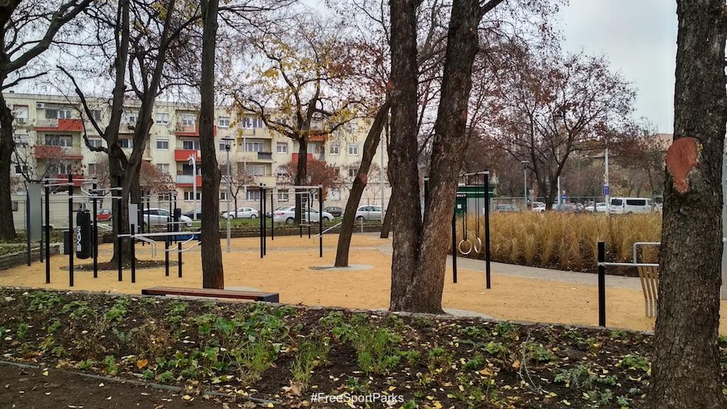 Függetlenségi park- Családi Szabadidőpark - kondipark - Free Sport Parks térkép - Budapest 2019, Európa Sport fővárosa