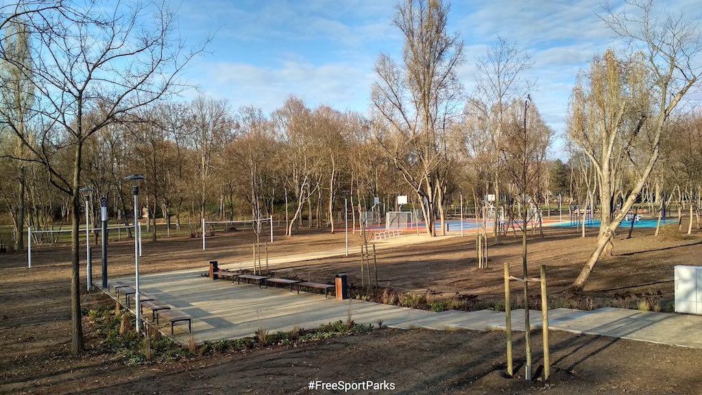 Hajógyári-sziget - Családi Szabadidőpark - Free Sport Parks térkép - Budapest 2019, Európa Sport fővárosa