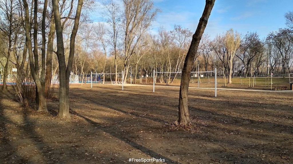 Hajógyári-sziget - Családi Szabadidőpark - röplabdapályák - Free Sport Parks térkép - Budapest 2019, Európa Sport fővárosa