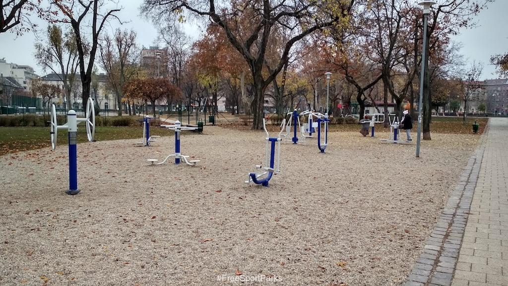 II. János Pál pápa tér - Családi Szabadidőpark - fitneszpark - Free Sport Parks térkép - Budapest 2019, Európa Sport fővárosa