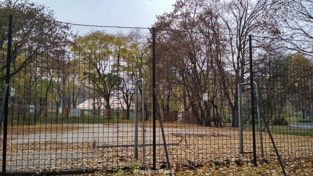 Tabáni Családi Szabadidőpark - foci és kosárlabda pálya - Free Sport Parks térkép - Budapest 2019, Európa Sport fővárosa