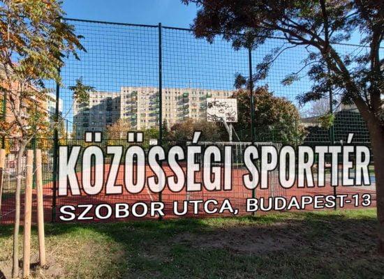 Szobor utcai Közösségi Sporttér - Budapest 13. kerület - Free Sport Parks térkép