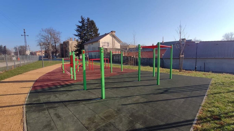 Kondipark (Street Workout Parks), Martonvásári Ifipark - Free Sport Parks térkép